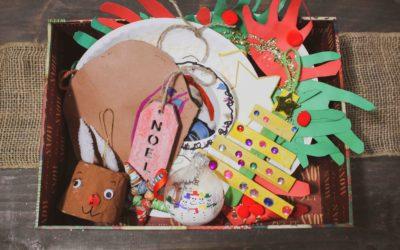 How-to Make Christmas Memory Boxes